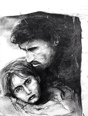 Homeless  Art Print by John  Duplantis