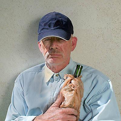 Photograph - Homeless Wino by John Orsbun