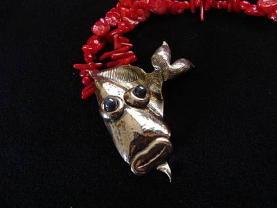 Fish Jewlery Jewelry - Homely Harry by Beverly Fox