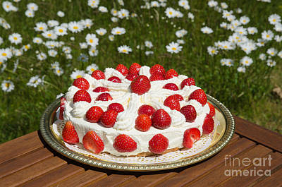 Photograph - Homemade Cake  by Kennerth and Birgitta Kullman