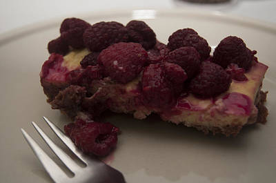 Photograph - Homemade Cheesecake by Miguel Winterpacht