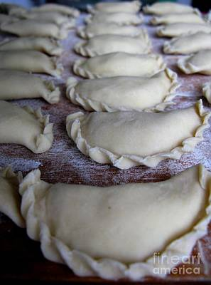Photograph - Homemade Lithuanian Dumplings by Ausra Huntington nee Paulauskaite