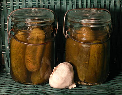 Photograph - Homemade Pickles by Grace Dillon