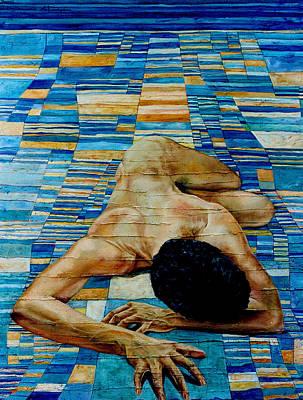 Homenaje A Paul Klee Art Print by Nancy Almazan