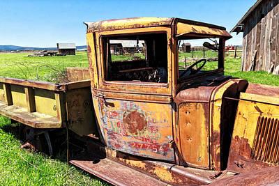 Kathleen Photograph - Homer's Truck by Kathleen Bishop