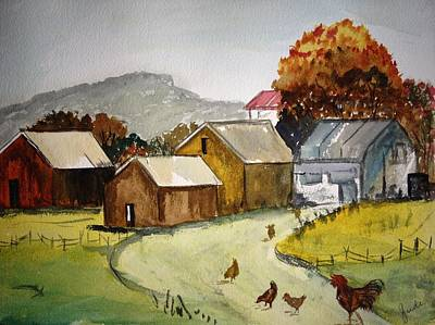 Homestead 2 Art Print by Judi Goodwin