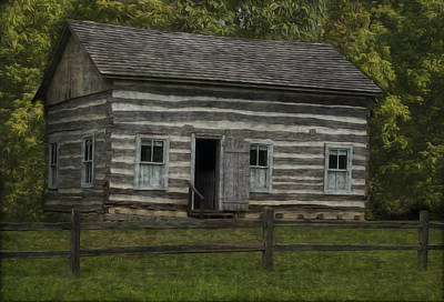 Shed Painting - Homestead 3 by Jack Zulli