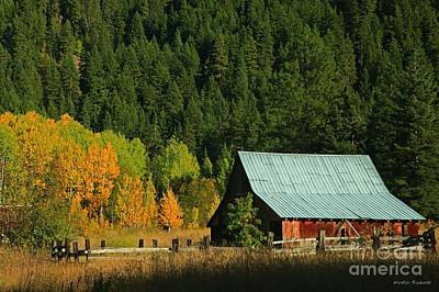 Homestead Autumn Print by Winston Rockwell