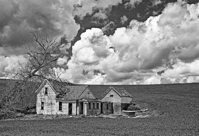 Homestead Blues Art Print by Latah Trail Foundation