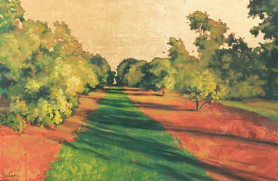 Homestead Grove 7 Art Print by Carlynne Hershberger