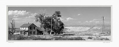 Photograph - Homestead by John Bushnell