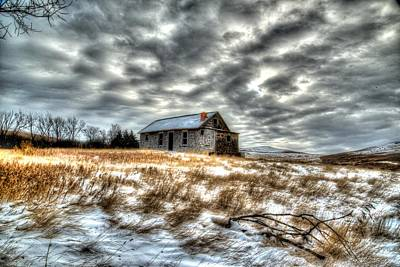 Art Print featuring the photograph Homestead by Kevin Bone
