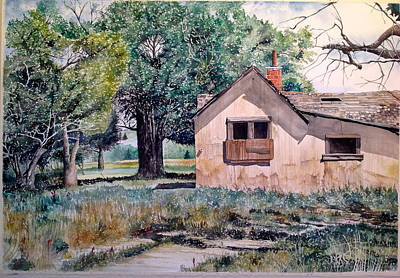 Painting - Homestead by Lance Wurst