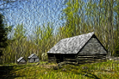 Photograph - Homestead by Paul W Faust -  Impressions of Light