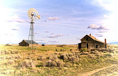 Photograph - Homestead That Once Was by Athena Mckinzie