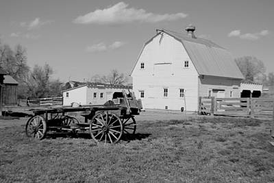 Photograph - Homestead by Trent Mallett