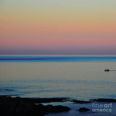 Photograph - Homeward Bound In Calm Seas by Paul Davenport