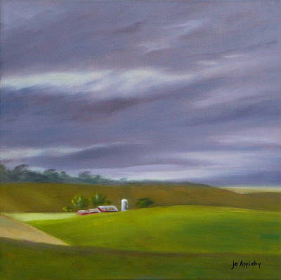 Painting - Homeward Bound Right by Jo Appleby