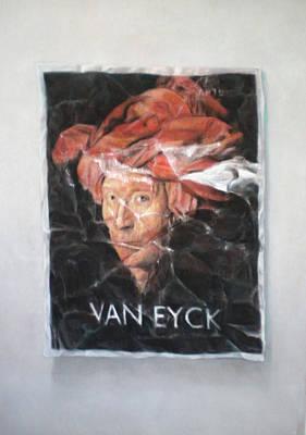 Hommage To Van Eyck Art Print
