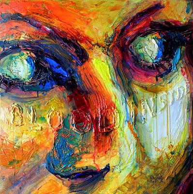 Painting - Homology #15 - Blood Inside by Alfredo Gonzalez