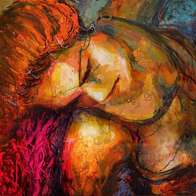 Painting - Homology #8 - Let It Come - Let It Be - Let It Go by Alfredo Gonzalez