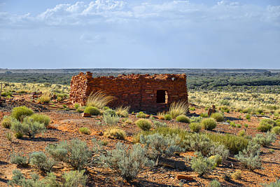 Historic Site Photograph - Homolovi Ruins State Park Az by Christine Till