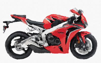 Honda Cbr 1000rr Red Awesome Original