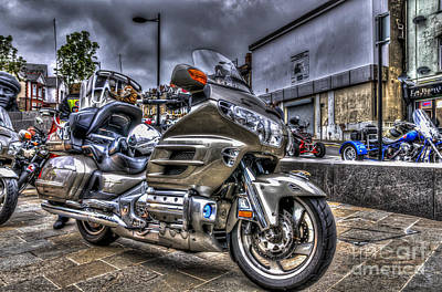 Honda Goldwing 2 Art Print