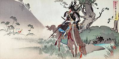 Honda Tadakatsu At Komaki Art Print by Paul D Stewart