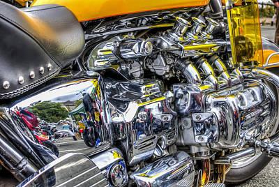 Honda Valkyrie 2 Art Print by Steve Purnell