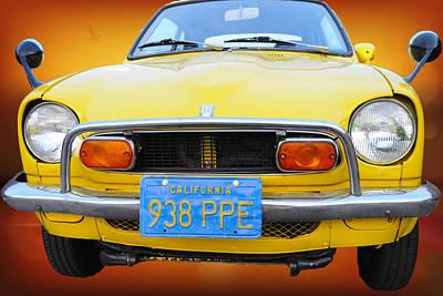 Honda Z600 Coupe I I Art Print