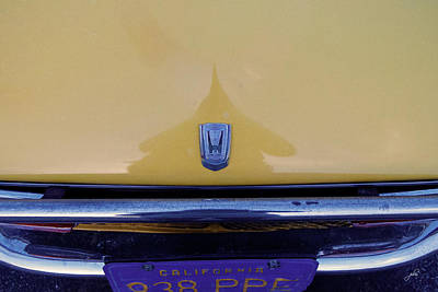 Photograph - Honda Z600 Hood Medallion by Paulette B Wright