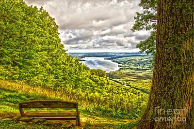 Honeoye Lake Overlook Art Print