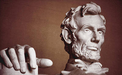 Photograph - Honest Abe by Jame Hayes