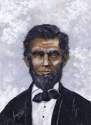Honest Abe Art Print