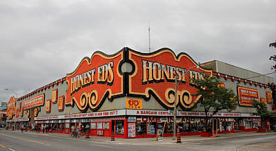 Photograph - Honest Eds 2 by Andrew Fare