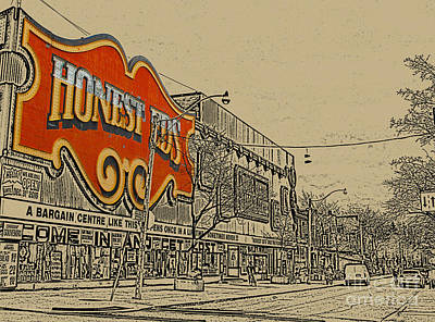 Photograph - Honest Eds On Markham Street by Nina Silver