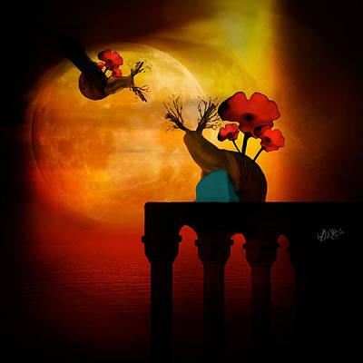 Romeo And Juliet Digital Art - Honest Goodbye by Kat Mellon