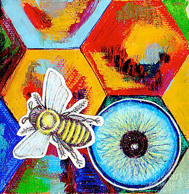 Honey Bee Sting Original by Genevieve Esson