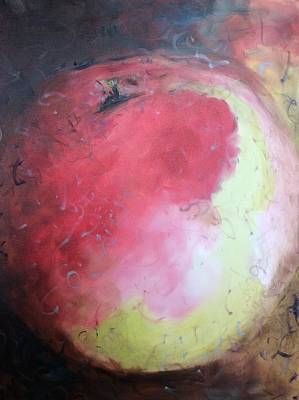 Painting - Honey Crisp by Karen Carmean