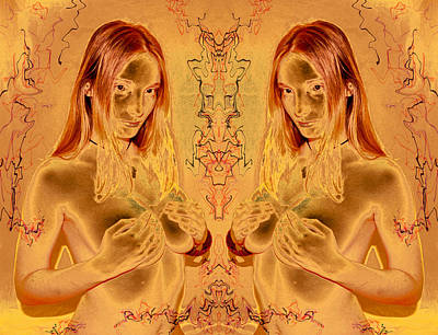 Photograph - Honey Goddess 2011 by James Warren