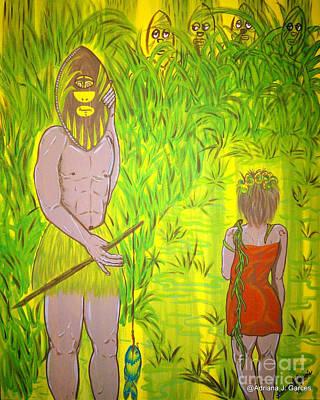 Honey I Am Home Art Print by Adriana Garces
