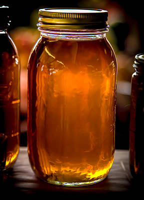 Candy Jar Photograph - Honey Jar by Karen Wiles