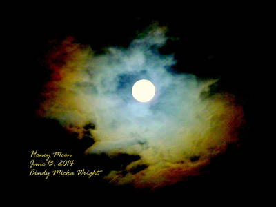 Photograph - Honey Moon by Cindy Wright