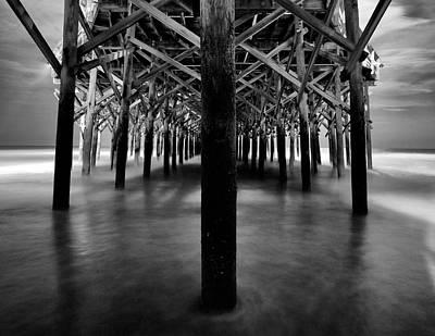 Wall Art - Photograph - Honey Moon Pier by Daniel Amick