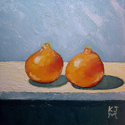 Honeybells - The Perfect Couple Art Print by Katherine Miller