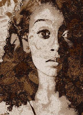 Photograph - Queen Of The Honeycomb by Jodie Marie Anne Richardson Traugott          aka jm-ART