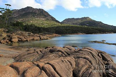 Honeymoon Bay Tasmania All Profits Go To Hospice Of The Calumet Area Art Print