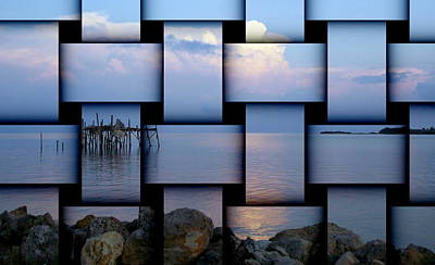 Photograph - Honeymoon Blue Sunset Weave by Sheri McLeroy
