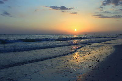 Photograph - Honeymoon Island Sunset by Howard Markel